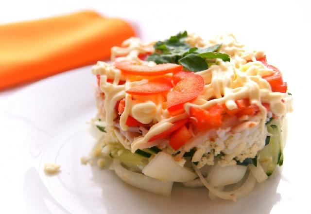 Второе рецепты с фото салаты