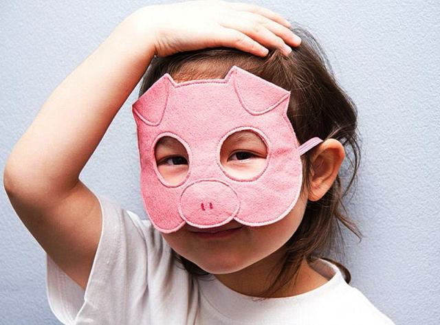 -Свиньи2 Маска Свиньи для детей: своими руками, шаблоны