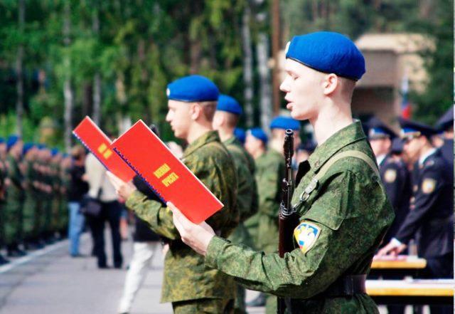 Весенний призыв в армию в 2019 году